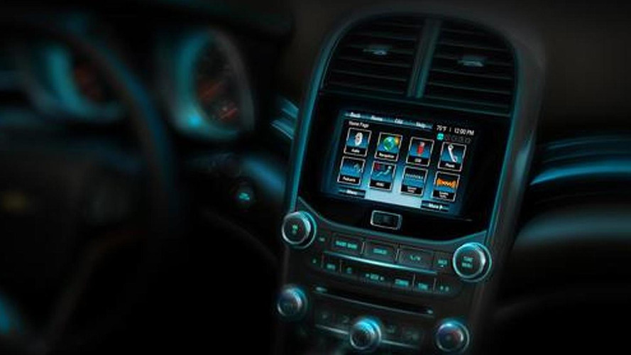 2012 Chevrolet Malibu interior teased