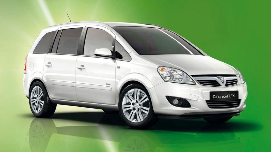 Vauxhall Announces New Zafira ecoFLEX Model (UK)