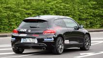 VW Scirocco R20T prototype spy photo at Nurburgring