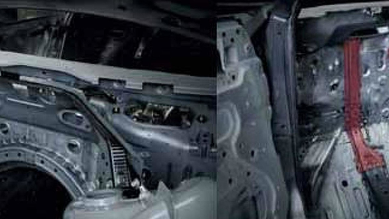 2012 Nissan GT-R leaked inner structure / chassis image, 711, 02.09.2010