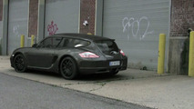 Porsche Cayman Shooting Brake 3D rendering