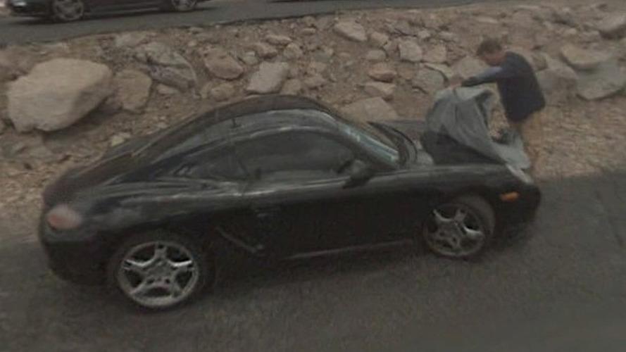 Google Streetview Catches Porsche Prototypes Testing