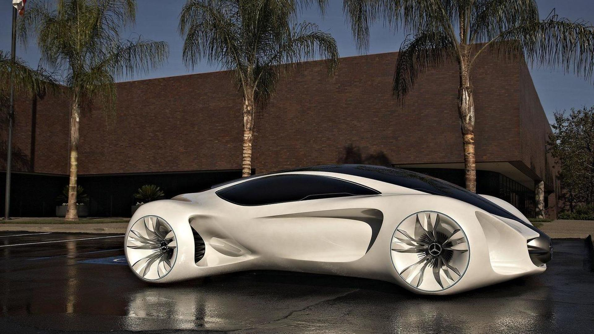 mercedes planning biome concept inspired eco supercar for 2015 report