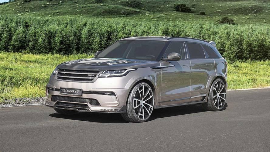 Mansory s'attaque au Range Rover Velar