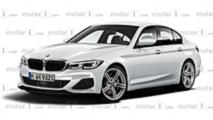 2019 BMW 3 Series rendering
