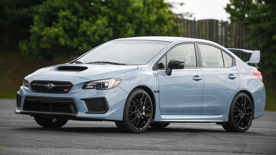 Subaru WRX, WRX STI Series.Gray revealed