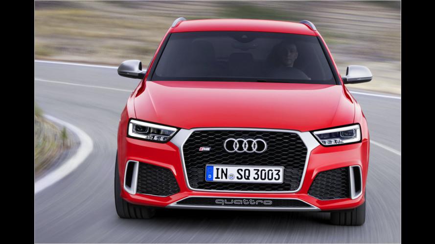 Audi Q3: Jetzt 340 PS im RS