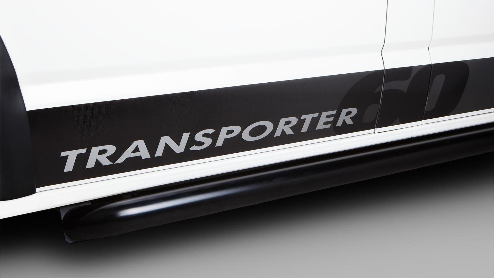 Надпись Transporter на дверях