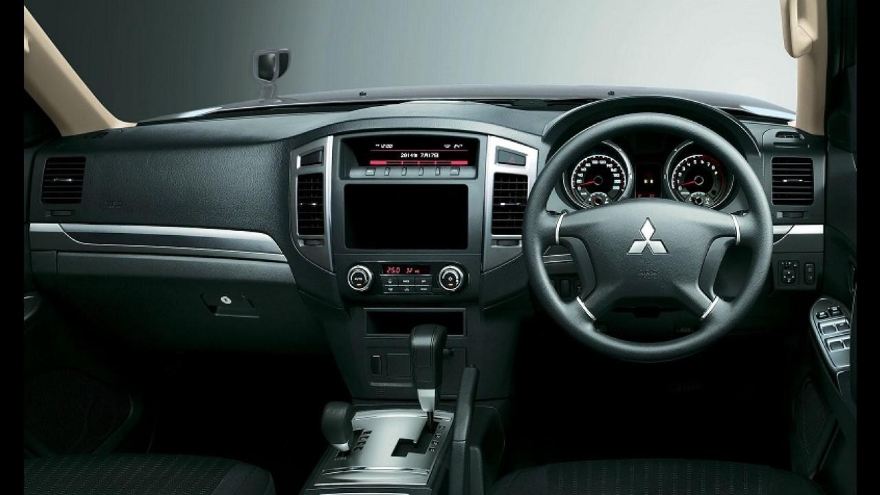 Mitsubishi Pajero Full ganha facelift, mas já tem nova geração à vista