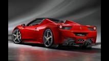 Agora é oficial: Ferrari revela primeiras imagens da 458 Spider em definitivo