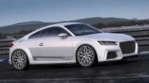 Flagra: Audi TT Cabriolet 2015 é visto sem nenhuma camuflagem
