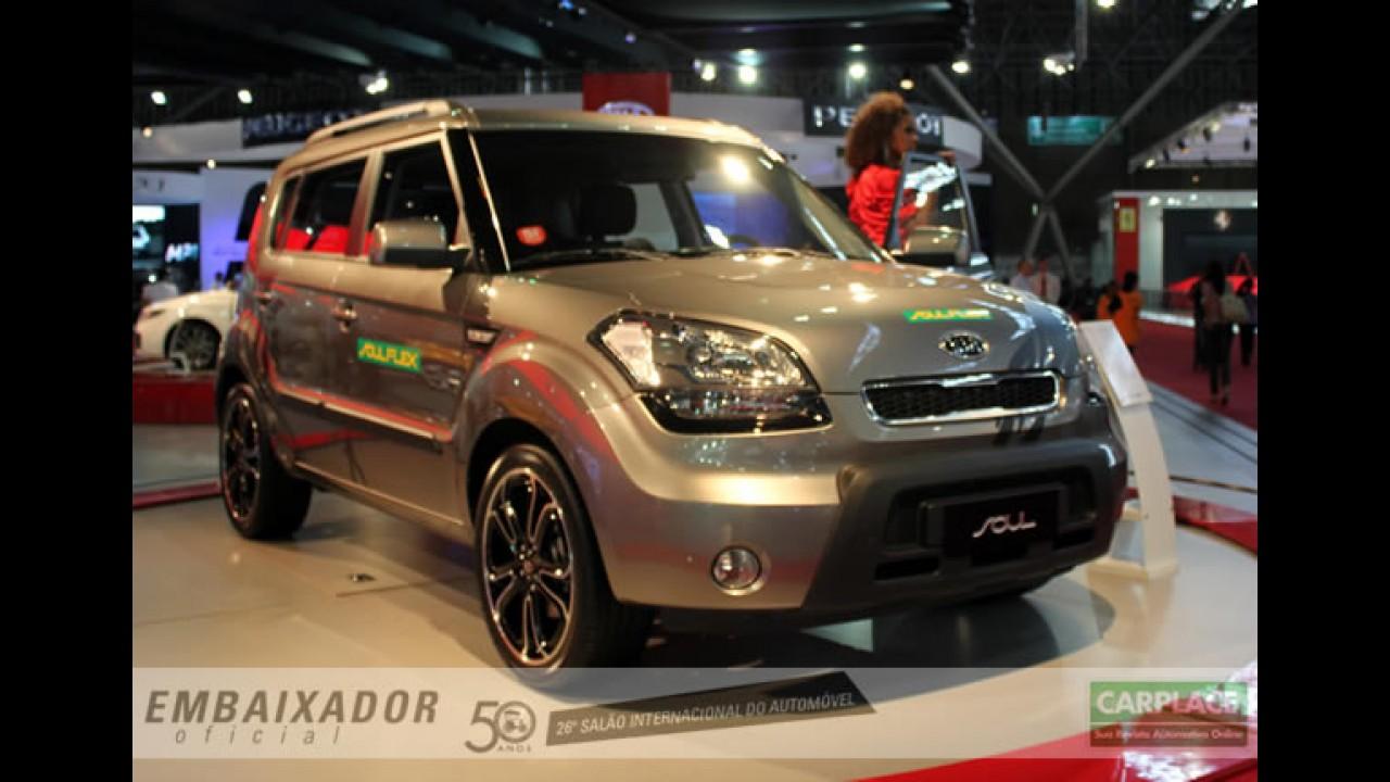 Kia lança o Soul Flex no Salão do Automóvel 2010