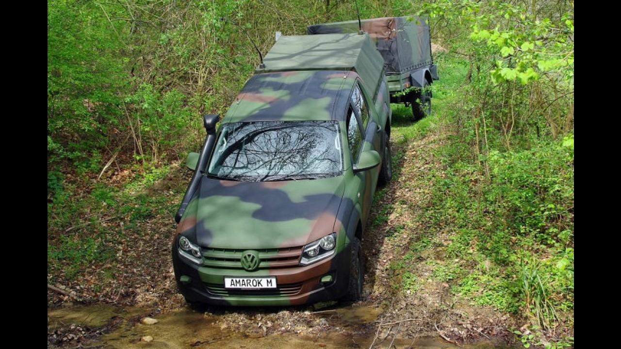 Volkswagen Amarok ganha versão exclusiva para uso militar na Alemanha