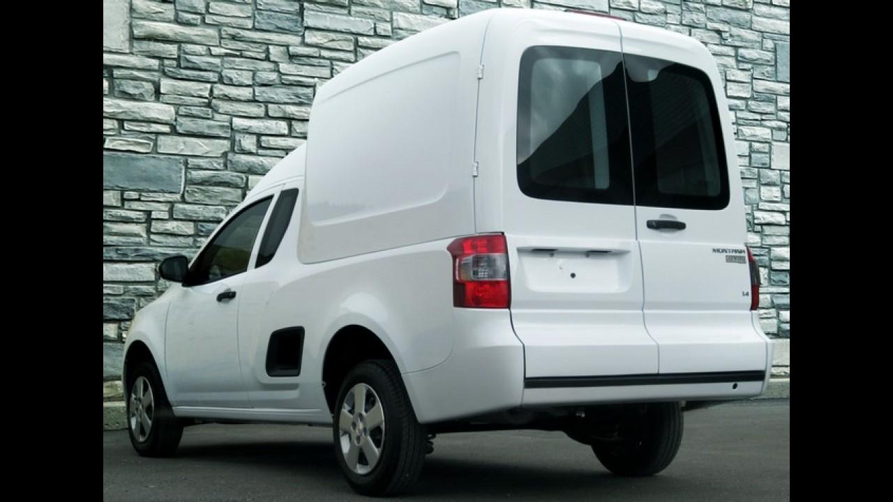 Chevrolet Montana ganha versão Combo