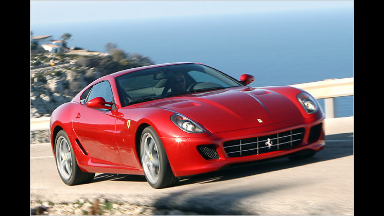 Ferrari 599 GTB Fiorano F1-Schaltung