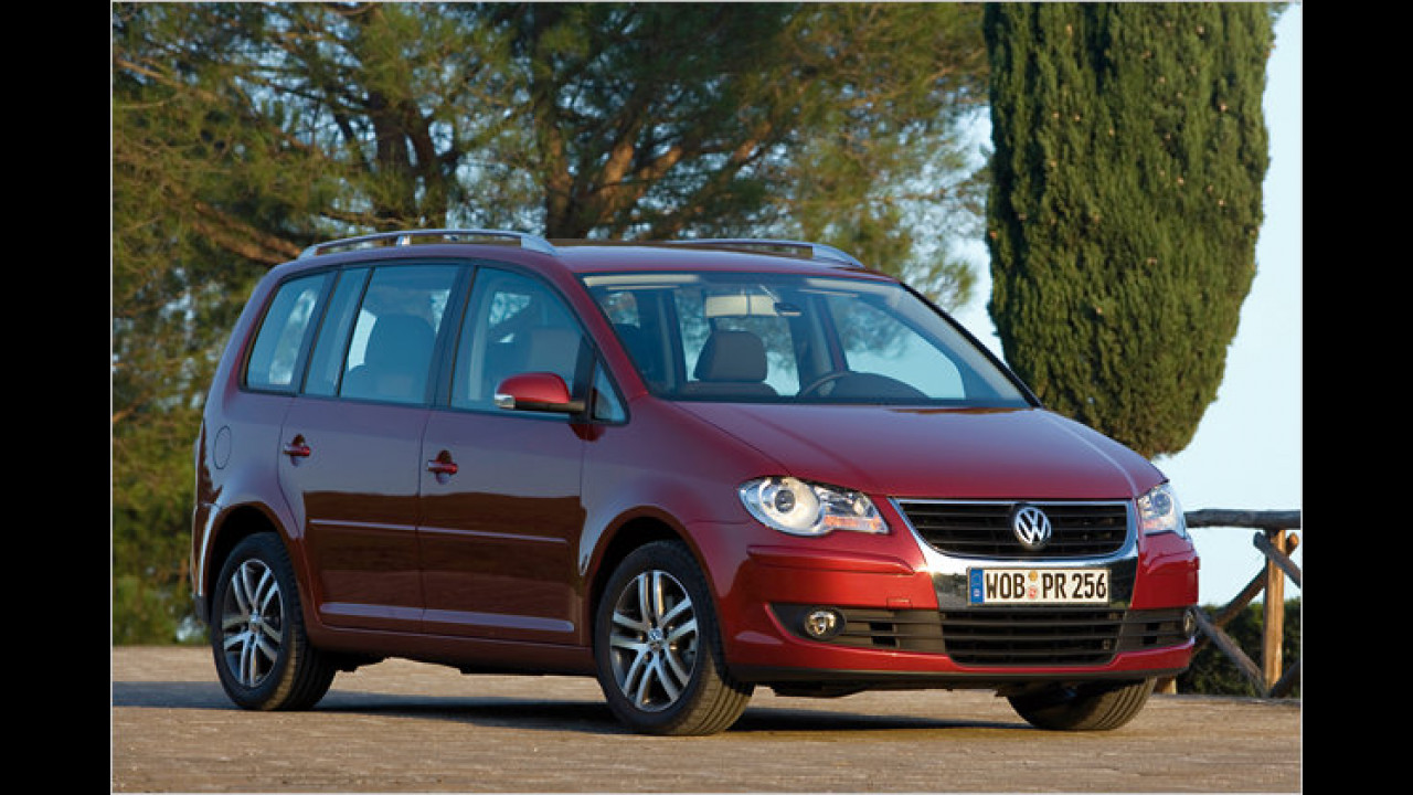 VW Touran BlueMotion Conceptline DPF
