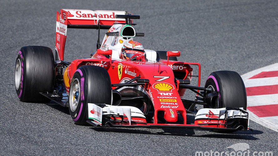Barcelona F1 test: Raikkonen puts Ferrari back on top, disaster for Alonso