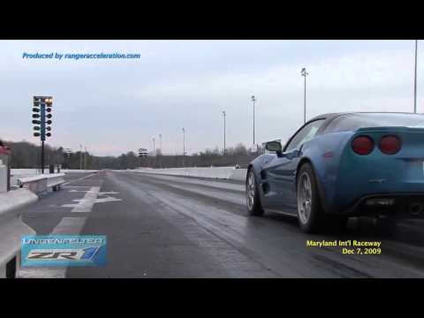 Lingenfelter C6 ZR1 First ¼ Mile Run In The 9