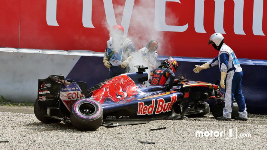 F1 faces suspension drama after Kvyat crash