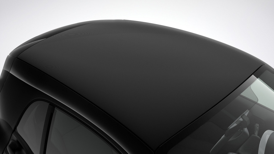 Smart ForTwo coupe gets rather odd fabric roof covering