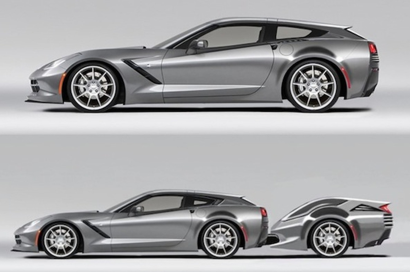 Callaway Corvette AeroWagonette- Ditch the Boring SUV