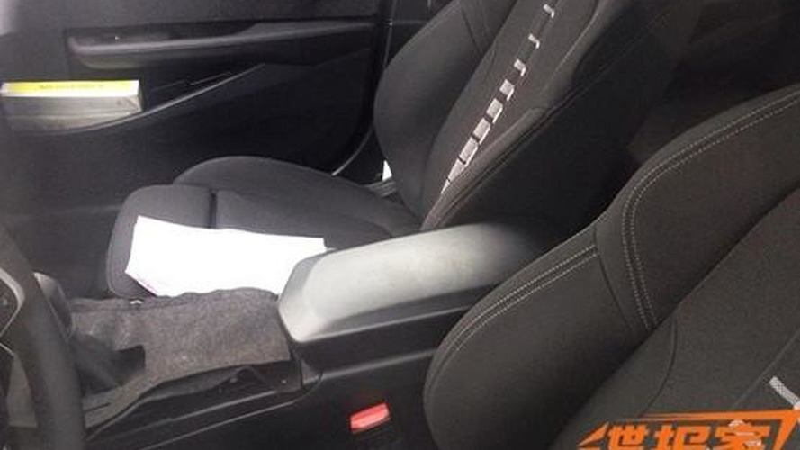 BMW 1-Series Sedan interior spied