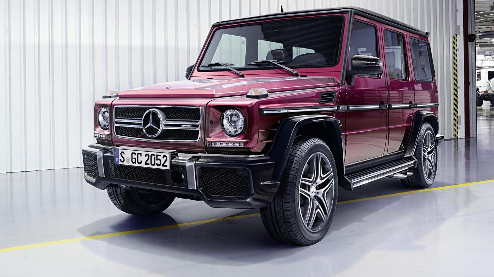 Mercedes benz g class news and reviews for Mercedes benz g class engine