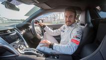 2017 Acura NSX with Fernando Alonso
