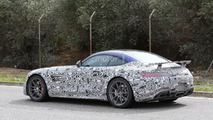 Mercedes AMG GT R spy photo