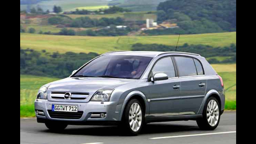 Opel: Vectra und Signum jetzt mit neuen Features