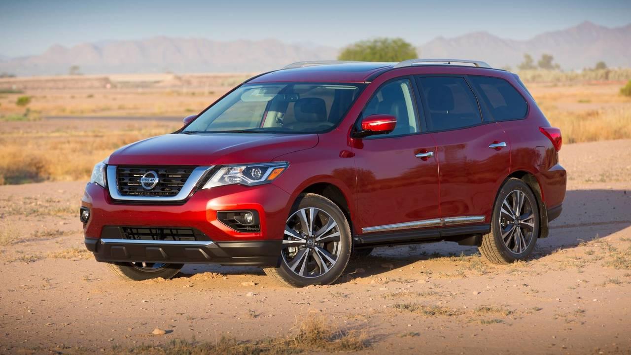 6. Large SUVs: Nissan Pathfinder