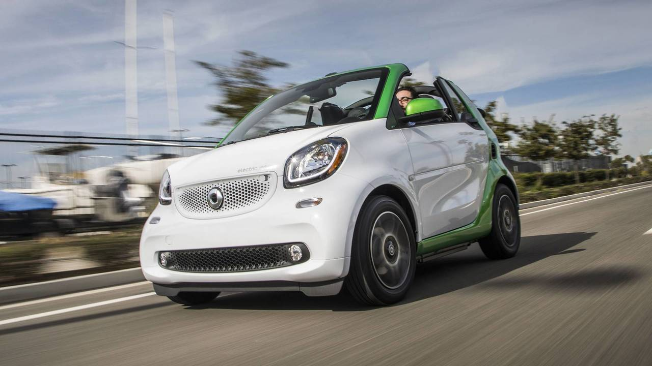 2018 Smart Fortwo Ed Cabriolet 2018 Smart Fortwo Electric Drive Cabriolet Review Photo 2018