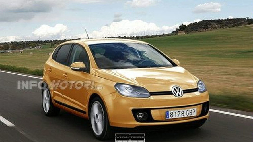 Rendering: Next Generation  VW Polo Will Arrive In 2009