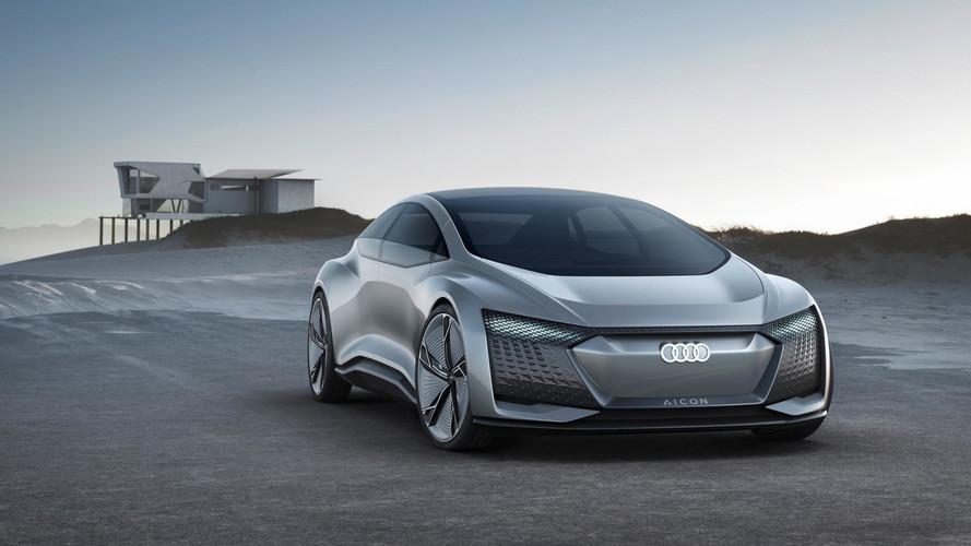 Audi Aicon Concept, una berlina autónoma y eléctrica