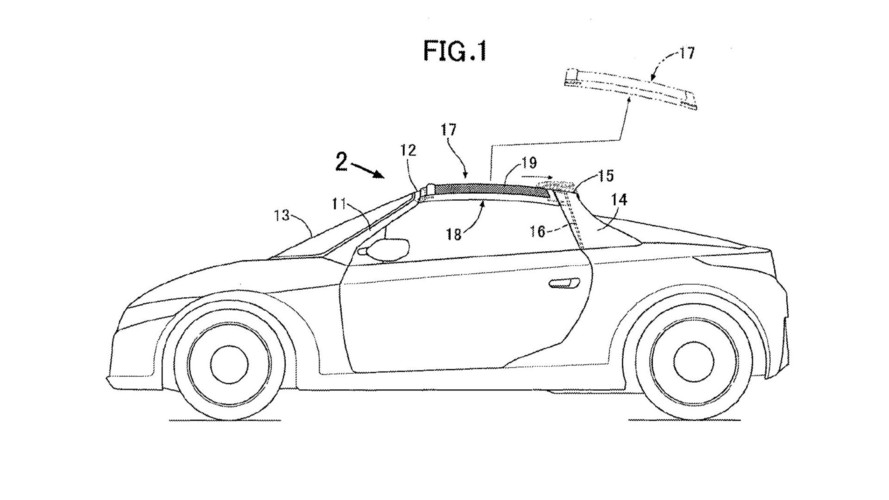 Honda Patent Shows Idea For Targa Top On Sporty Roadster
