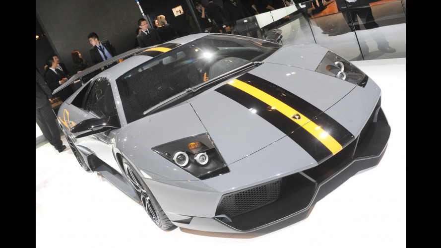 Sold out le Lamborghini Murciélago SuperVeloce China
