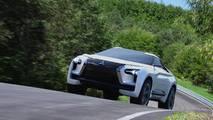 2017 Mitsubishi e-Evolution concept