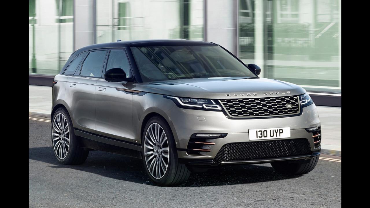 Range Rover Velar e le concorrenti
