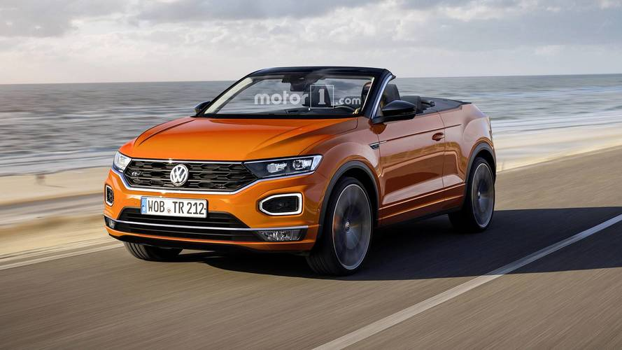Preparing For The Inevitable: 2020 VW T-Roc Cabrio Rendered