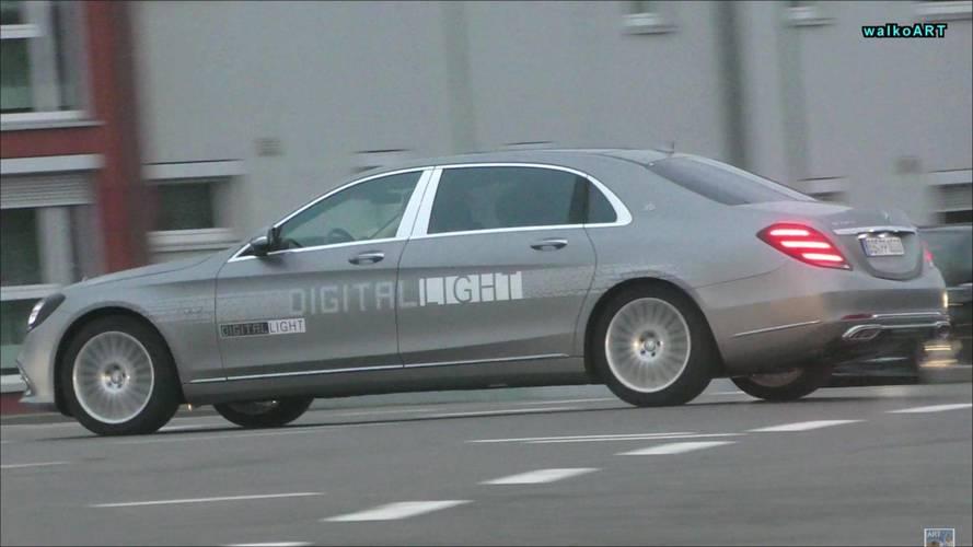 Mercedes, çok akıllı LED farlarını S Serisi'nde test ediyor