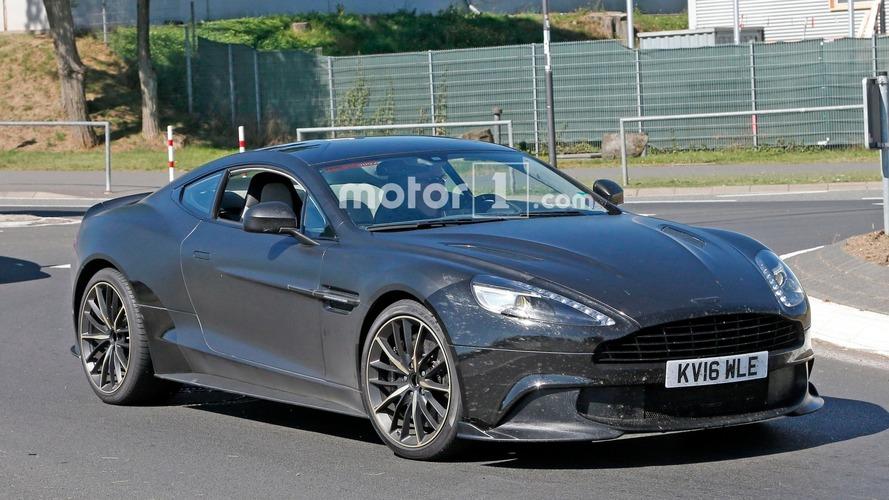 Aston Martin, Vanquish S ile bu jenerasyonu noktalayacak