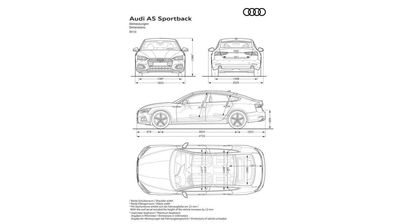 2017 audi a5 coupe  sportback prices start at  u00a330 700 and