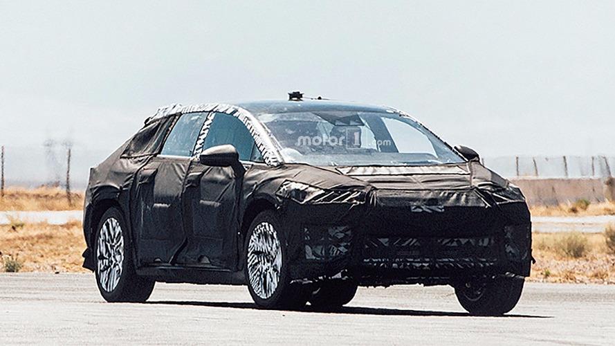 Faraday Future - Premiers spyshots de son SUV sur les routes américaines
