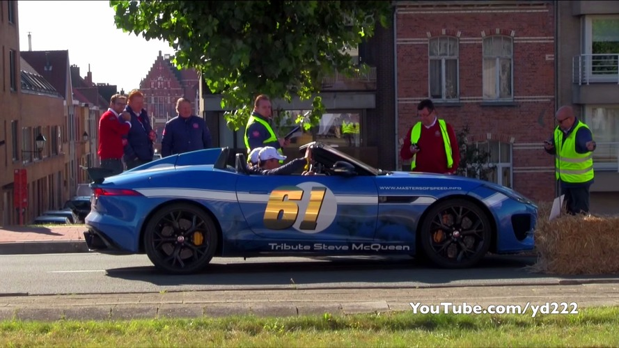 Watch dozens of supercars launch - which one sounds best?