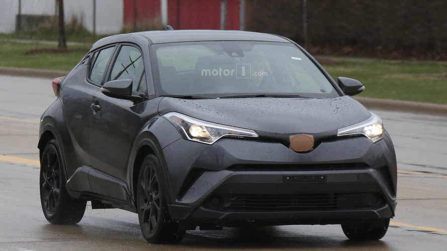 2018 Toyota C-HR spy photo