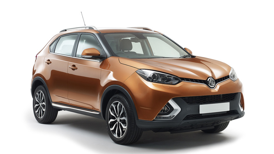 Euro-spec MG GS unveiled with the company's first automatic transmission
