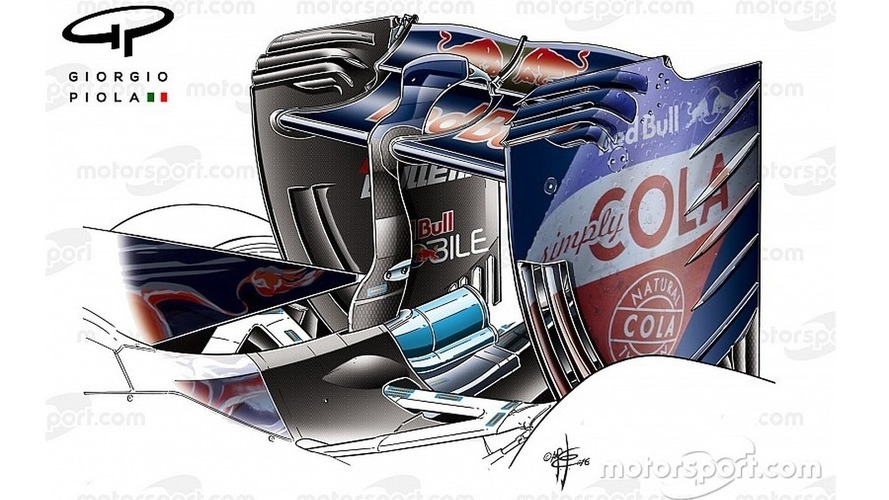 Chinese GP tech debrief: Toro Rosso's new rear wing