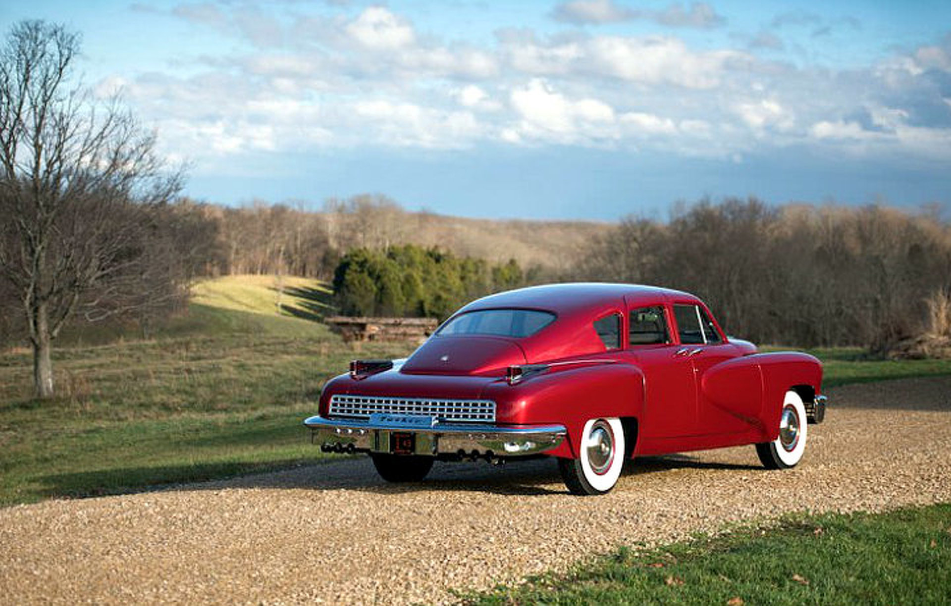 Rare Tucker 48 Prototype Goes to Auction
