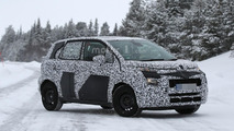 2017 Citroën C3 Picasso spotted with funkier design