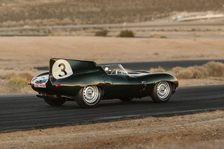 "Exceedingly Rare 1-of-6 Jaguar ""Long Nose"" Races to Auction"